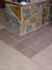 Floor Change in tile