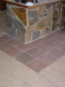 Floor Change in tile
